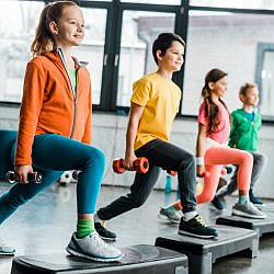 Single Pass Kids/Teens Cardio Class Image