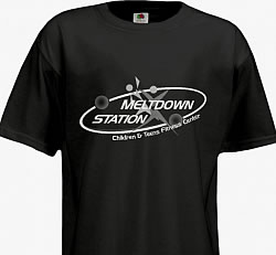 MELTDOWN STATION LOGO T-SHIRT Image
