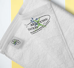 MELTDOWN STATION TOWEL Image